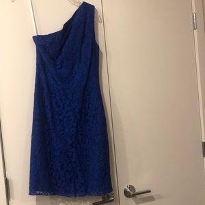 Blue semi formal dress. Perfect for wedding!!